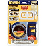 IRWIN Wooden Door Lock Installation Kit, 3111001 фото