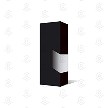 Amazon com: Blank Vape Cartridge Packaging Empty Boxes Matte Black