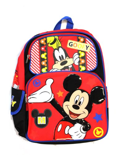 Mickey Mouse and Goofy - 16'' Backpack - BRAND NEW by Disney