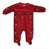 Tampa Bay Buccaneers Toddler Size 18 Months Full Zip Footed Pajamas