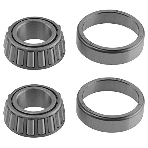 Front Outer Wheel Bearing Set of 2 for Ford Mercedes Jaguar A12 Brand by TRQ