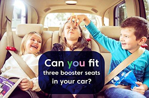 Smart Kid Belt Pocket Size Car Seat Booster Group 2 3 For Kids 4-12 Years Old EU ECE R44 Certified EU Road Legal