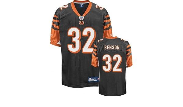 Amazon.com   Cedric Benson Jersey  Reebok Authentic Black  32 Cincinnati Bengals  Jersey - 48   Sports   Outdoors 15d3ee085