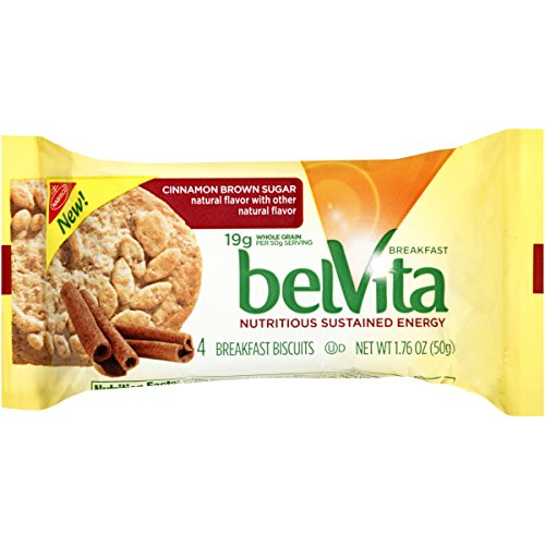 belVita Breakfast Biscuits, Cinnamon Brown Sugar, 1.76 Ounce (Pack of 8)