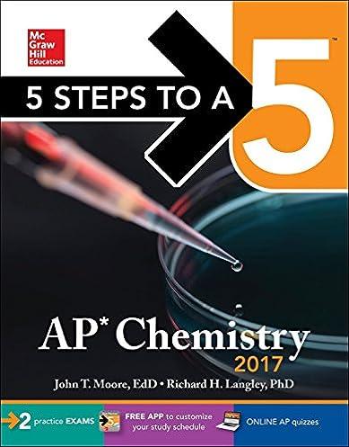 amazon com 5 steps to a 5 ap chemistry 2017 mcgraw hill 5 steps rh amazon com Chemistry Experiments Static Chemistry