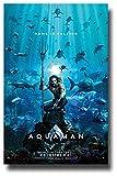 Aquaman Poster Movie Promo 11 x 17 inches Main Underwater