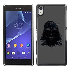 Design for Girls Plastic Cover Case FOR Sony Xperia Z2 Darth Lord OBBA
