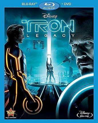 amazon com tron legacy two disc blu ray dvd combo jeff bridges