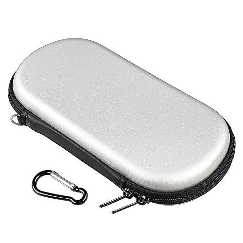 - Sudroid carryer bag iHard Case Bag Pouch Cover For PSp 3000/2000/1000 (Silver)