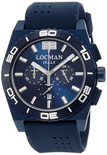LOCMAN watch STEALTH Mare 0212BLBA-BLBSIB Men's