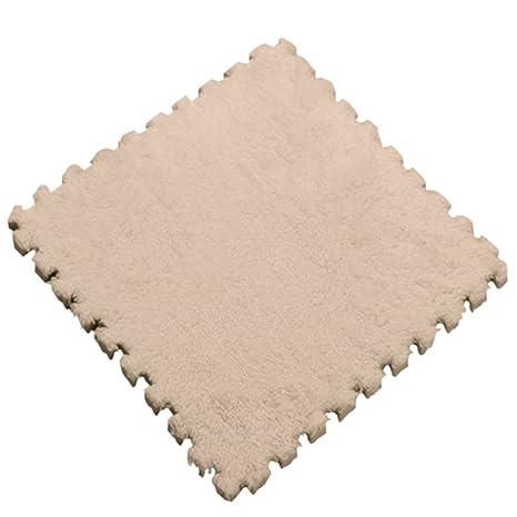 qiao nai tm 10pcs peluche souple puzzle tapis sol ramper couverture mousse eva pour - Tapis Sol
