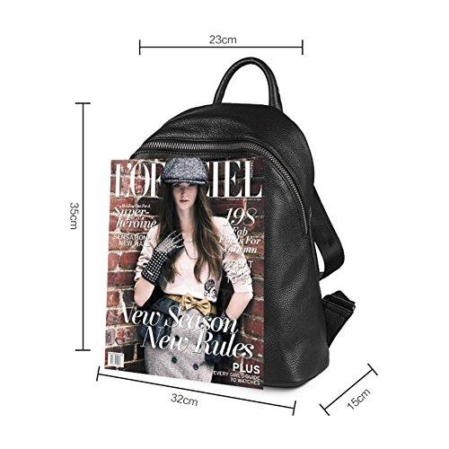 nbsp;Ladies double nbsp;Sac A Sac backpack casual nbsp; A mode coréenne de bandoulière polyvalent à nbsp; t8xAAT