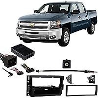 Fits Chevy Silverado Pickup 2012-2013 w/OE NAV SDIN Harness Radio Dash Kit