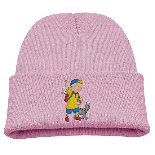 Caillou & Gilbert Wave Warm Winter Hat Knit Beanie Skull Cap Cuff Beanie Hat Winter Hats Kids