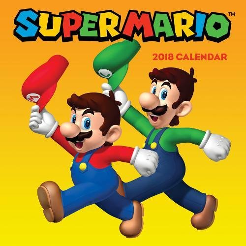 Super Mario™ 2018 Wall Calendar cover