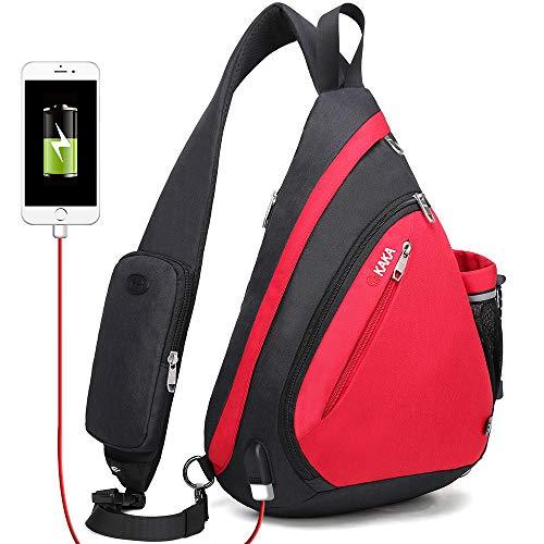 Cross Body Bag, Sling Backpack Shoulder Bag for Women Men by KAKA (Best Kaka Shoulder Bags)