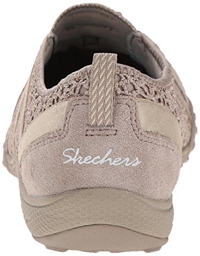 Skechers Sport Frauen atmen Easy Fortune Fashion Sneaker Taupe Wiesen