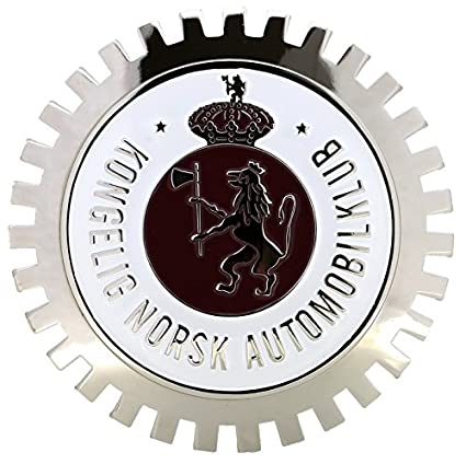 Amazon.com: Rejilla de coche cromado Emblema Insignia ...