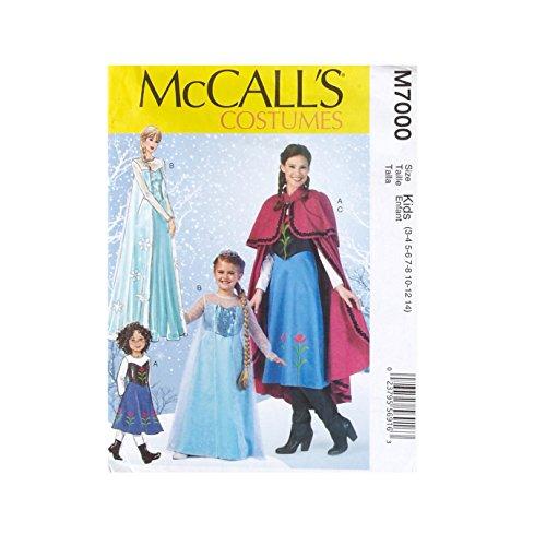 McCall's Patterns Girls Patterns-Winter Princess Costume Pattern