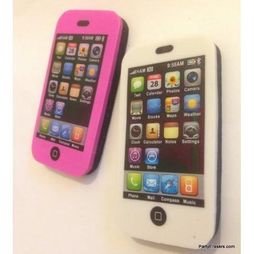 à gommes iphone effacer Noir Noir Rose Blanc Kawaii et N0Oyvn8wm