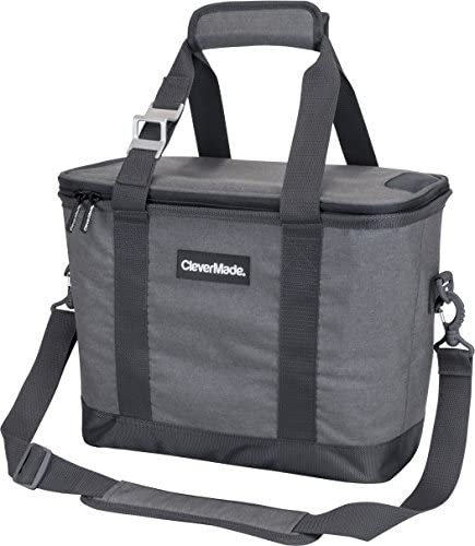 CleverMade SnapBasket Soft Sided Collapsible Cooler