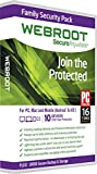 Software : Webroot Internet Security Complete + Antivirus 2017 | PC | 10 Device | 1 Year Subscription