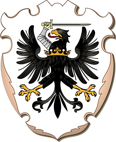 Michael Rene Pfluger Barmstedt Autoaufkleber Wappen Preussen Adler