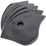 5 Filtros de Carbón Activado para Tapa Facial o Cubierta de Deporte al Aire Libre. Resistente al Polvo y…