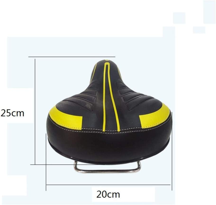 GYhxl Bicycle Big Butt Saddle Seat Waterproof Road MTB Bike Thicken Wide Soft Pad Comfort Cushion For Cycling