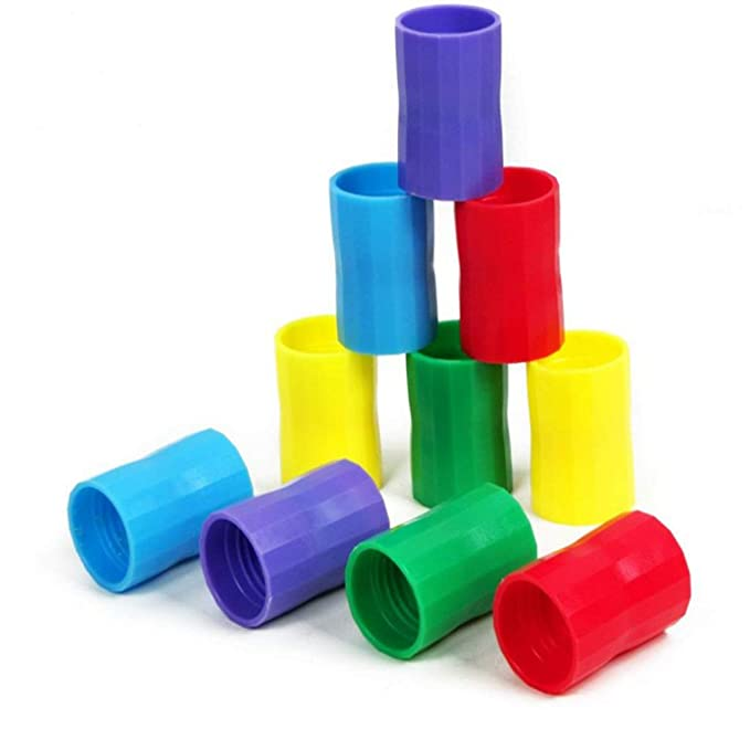 Homyl 5 Unidads Vortex Botellas Conectores Cyclone Tubo Experimentos Científicos de Plástico - Púrpura: Amazon.es: Juguetes y juegos