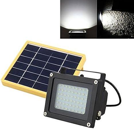 54 LED FloodLight Solar Powered Sensor Waterproof Outdoor Security Flood LIght