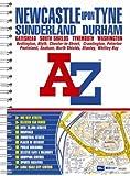 Newcastle upon Tyne Street Atlas (spiral)