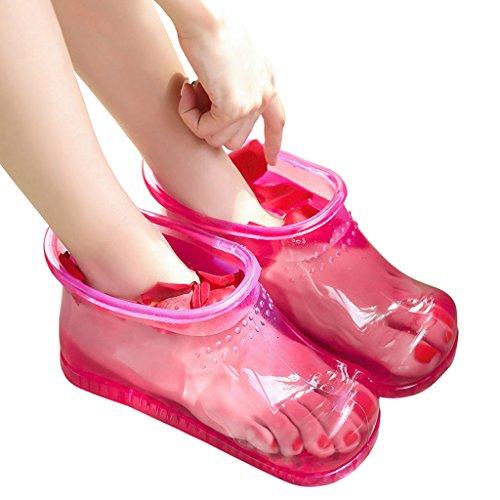 Pieds Salle Des Bleu De Pantoufles SHI Chaussures Intérieur Femme taille SHOP Massage Eté Pantoufles LI Couleur Rouge XIANG Bains Pied Maison L Dames Bain w7OqnPRx