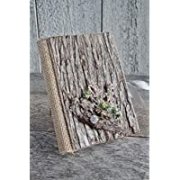 ''Handmade''4x6 MINI wooden photo album, Wedding travel holidays memories photo album, Rustic photo album, Wedding album present, Xmas mini album gift