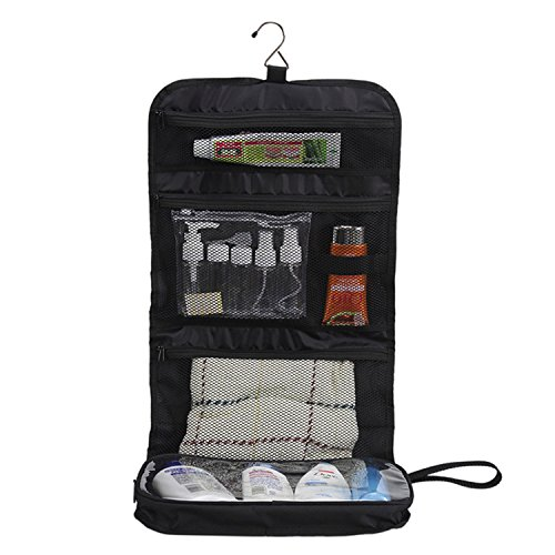 Bidafun Hanging Toiletries Travel Bag Organizer with Hook