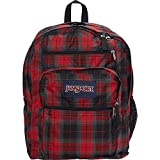 JanSport Big Student Backpack- Sale Colors (Red Tape iPlaid)