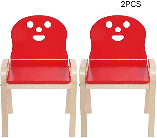 Toddlers Kids Children/'s Chair Stool Furniture Assembly ~Red/_B