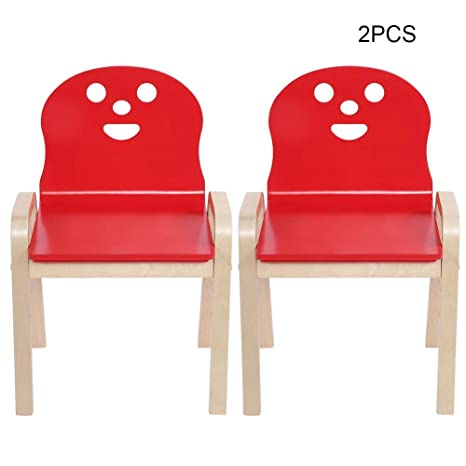 558 für 2 531 mit 5cm Rot ╳ KinderHolz38 Kindermöbel EBTOOLS Kinderstuhl Stuhl Lehne OP8Nn0Xwk