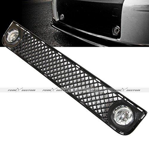 2008-2012 Scion xB Honeycomb Mesh Front Grill Fog Lamp Lights