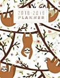2018-2019 Planner: Sloth Design Weekly & Monthly Schedule Diary | At A Glance, High School, College, University, Home, Organizer Calendar August 2018 To July 2019 Timetable (Education) (Volume 26)