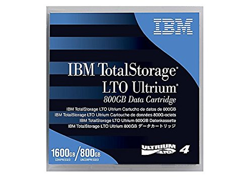 Tape LTO Ultrium-4 800GB/1600GB 5pk by IBM