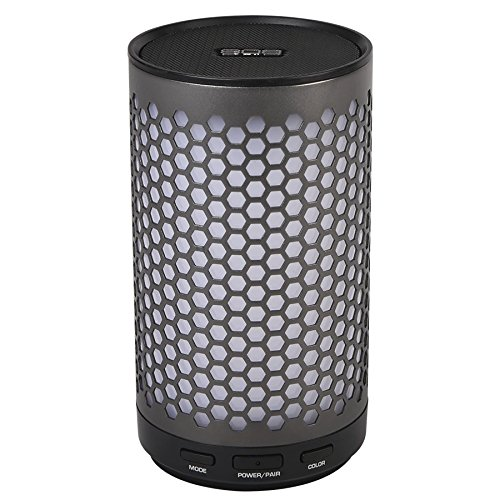 808 Audio SP435GM CANZ GLO Bluetooth Speaker Grey