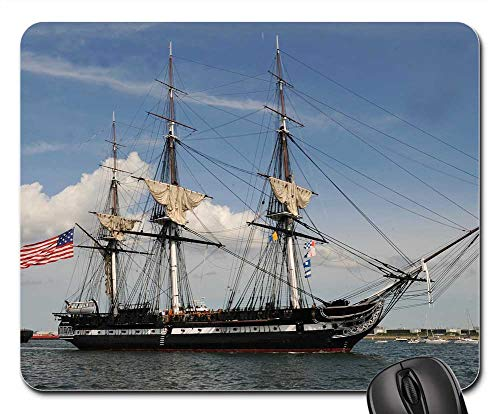 Mouse Pad - Charlestown Massachusetts USS Constitution Famous ()