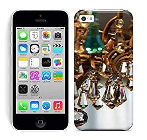 Best Power(Tm) HD Colorful Painted Watercolor Chandelier Hard Phone Case For Iphone 5C