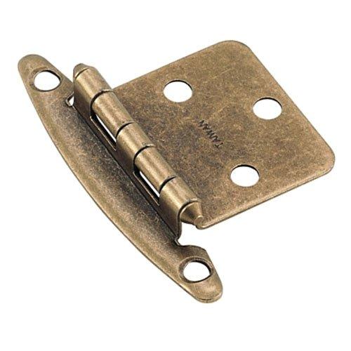 Amerock BP7678-BB Non Self-Closing Variable Hinge (Pair)-Burnished Brass-2 Pack