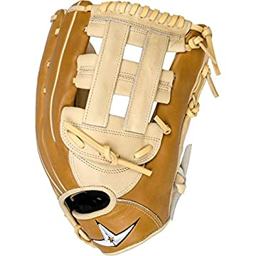 Image of All-Star Pro-Elite 12.75 Inch FGAS-1275H Baseball Glove - Saddle/Cream First Baseman's Mitts