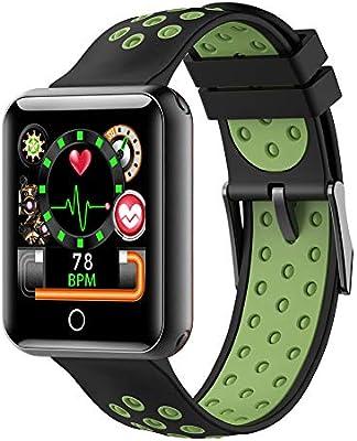 YHLDCA Pulsera de Actividad Pulsómetro Impermeable Podómetros Monitor de Dormir Notificación de SMS Reloj Inteligente para Deporte para Hombres Mujeres ...