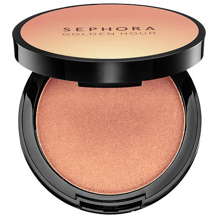 Color Powder Luminizing (SEPHORA COLLECTION Golden Hour Luminizing Powder 0.28 oz Color 03 High Moon)