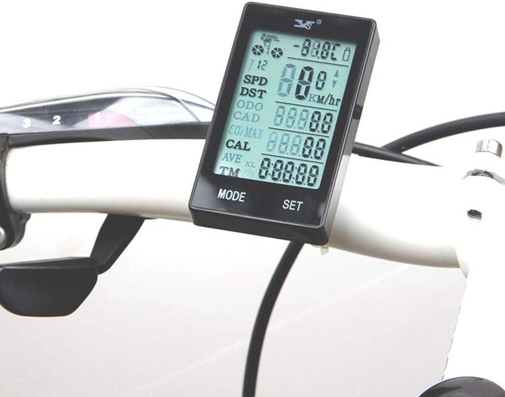 Velocímetro De La Bicicleta, Tabla De Códigos Inalámbrica del ...