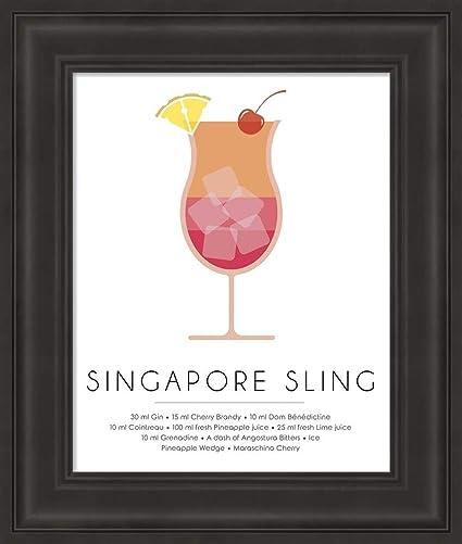 Amazon com: Singapore Sling by Studio Grafiikka Fine Art
